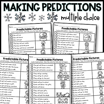 Making Predictions and Predictable Pictures (WINTER)
