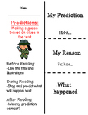 Making Predictions flapbook