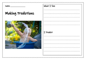 Making Predictions using Photos- Daily Warm-ups 2 WEEKS
