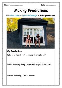 Making Predictions using Photos- ONE WEEK of Warm-ups