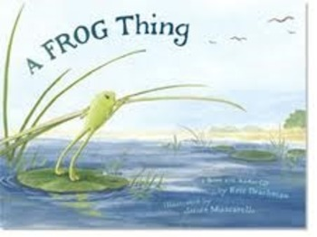 Making Predictions with A Frog Thing
