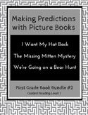 Making Predictions with Picture Books (First Grade Book Bundle #2) CCSS