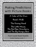 Making Predictions with Picture Books (First Grade Book Bundle #1) CCSS