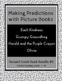Making Predictions with Picture Books (Second Grade Book Bundle #3) CCSS