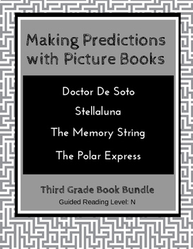 Making Predictions with Picture Books (Third Grade Book Bundle) CCSS