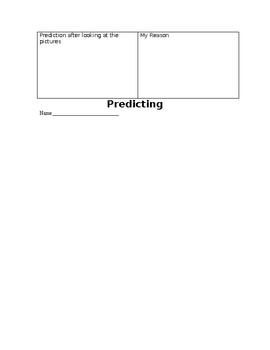 Making Predictions with Reasoning