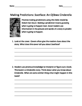 Making Predictions with Sootface: An Ojibwa Cinderella