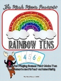 Making Quick Tens Rainbow Card Game