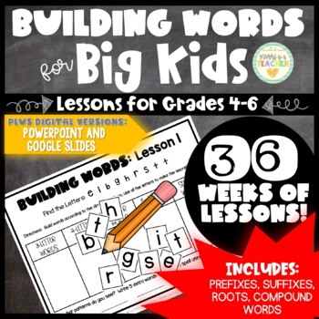 Making Words - Weekly Lessons (Intermediate-3rd grade, 4th