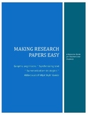 Making Research Papers Easy