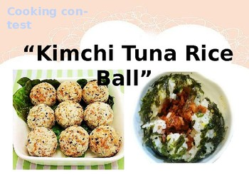 Making Rice Ball -cooking contest