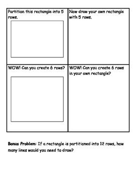 Making Rows and Columns Worksheet Set