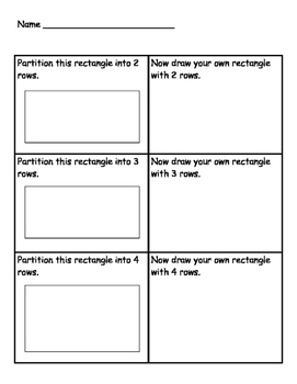 Making Rows and Columns Worksheet Set