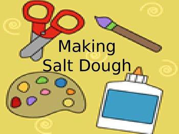 Making  Salt Dough- Step by step!