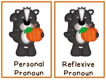 """Making """"Scents"""" of Reflexive Pronouns: Common Core L.2.1c"""