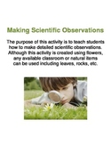 Making Scientific Observations