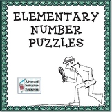 Making Sense With Numbers Puzzle