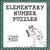Elementary Math Puzzles