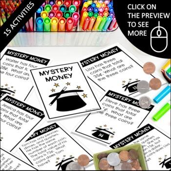 Money Unit: Money Centers, Money Games, Money Activities, Word Problems