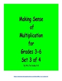 Making Sense of Multiplication Set 3 of 4 (2 x 2 Digit Multiplication)