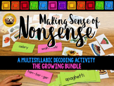 Making Sense of Nonsense: A Multisyllabic Decoding Activit