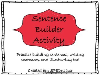 Making Sentences Activities