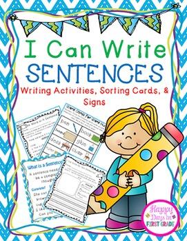 Making Sentences {K-1st grade}