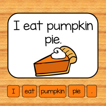 Making Sentences Literacy Center BUNDLE