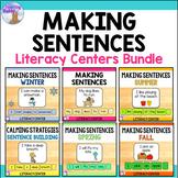Making Sentences Literacy Center BUNDLE