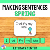 Making Sentences Literacy Center (Spring)
