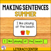 Making Sentences Literacy Center (Summer)