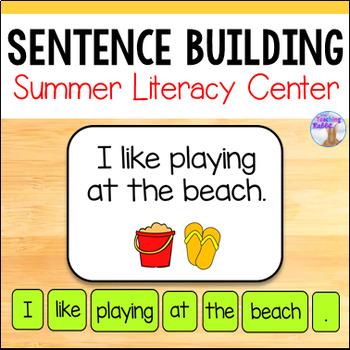 Making Sentences Literacy Center (Summer)