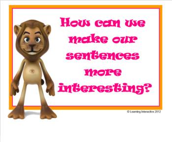 Making Sentences More Interesting - Year 1+2