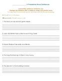 Making Sentences Possessive