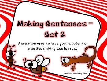Making Sentences-Set 2