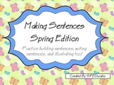 Making Sentences: Spring Edition