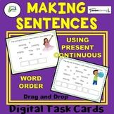 Making Sentences Using Present Continuous Boom Distance Le