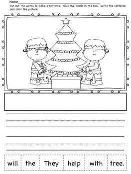Making Sentences - Winter Wonder
