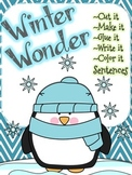 Making Sentences - Winter Wonder