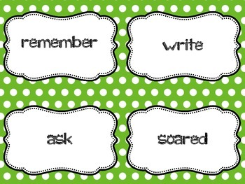 Making Sentences With Verbs