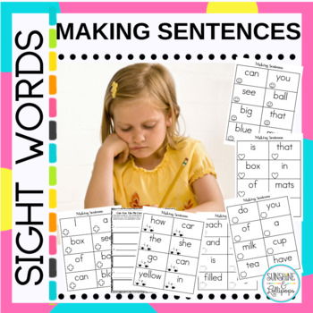 Sight Words: Making Sentences with Easy Fry and Dolch Words