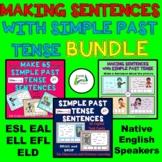 Making Sentences with Simple Past Tense BUNDLE Boom Learni