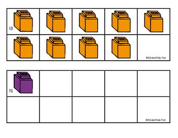 Making Sets of 10 Unifix Cubes (Common Core K.OA.4)