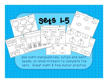 Making Sets of Numbers 1-5