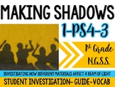 Making Shadows a 1st Grade NGSS Aligned Light mini-unit (1-PS4-3)
