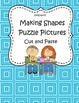Shapes Puzzle Pictures Cut and Paste