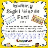 Sight Word Fun - Set 2
