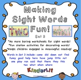 Sight Word Fun - Set 3