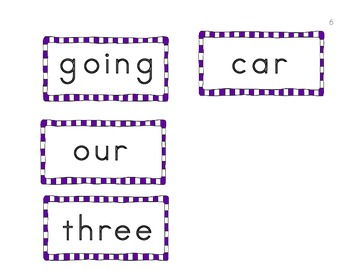Making Sight Words - Set 3