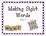 Making Sight Words - Set 3